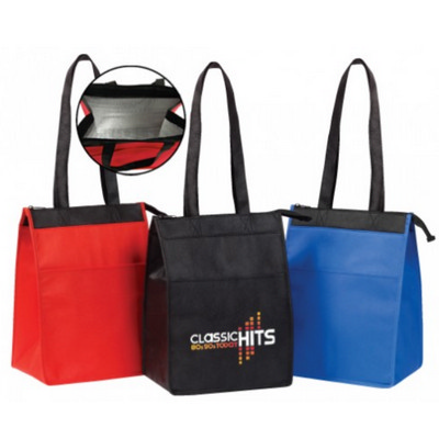 Picture of Insulated Lunch Tote - Zipper Closure