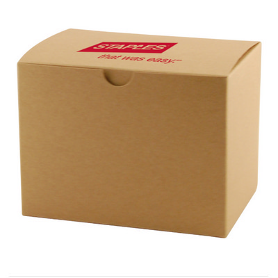 Picture of FOLD-UP GIFT BOX - NATURAL KRAFT