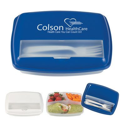 Picture of OCLF04 3-Section Lunch Container