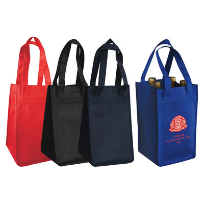 Picture of OCWINETOTE4 Non-Woven Polypropylene 4-Bo