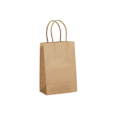 Picture of PAPB01KBS Kraft Paper Bag Small Includes