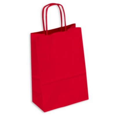 Picture of PAPB01KCS Kraft Paper Bag Coloured Small