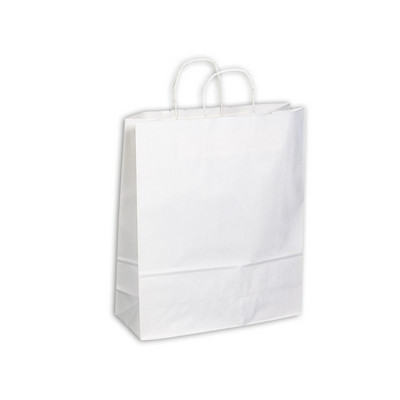Picture of PAPB01KWXL Kraft Paper Bag White Extra L