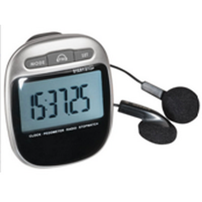 Picture of PEDL12 Pedometer With FM Radio