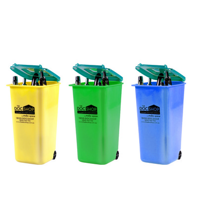 Picture of PEHB04 Plastic Wheelie Bin Pen Holder
