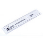 RUS005 Paper Ruler Book Mark