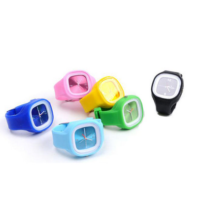 Picture of SIWT01 Square Silicone Watch