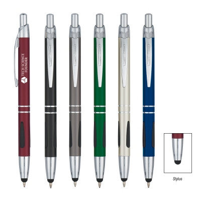Picture of SPEN989 Aluminum Ball Pen With Stylus