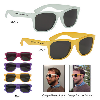 Picture of SUNG15 Color Changing Malibu Sunglasses