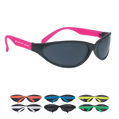 Picture of SUNG16 Wave Rubberized Sunglasses