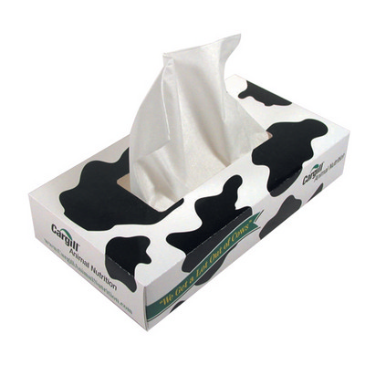Picture of TISS01 Printed Tissue Box