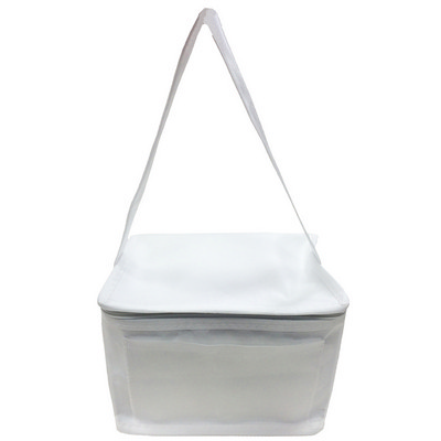 Picture of Knowsley Polypropylene Cool Bag In White.