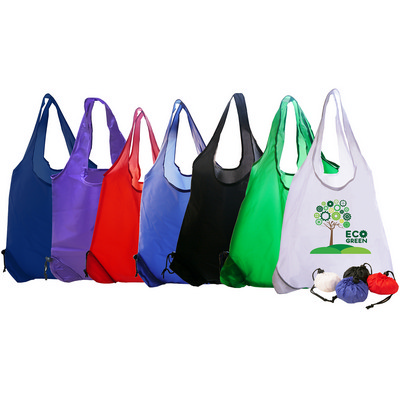 Picture of Folding Polyester Shopper Bag.