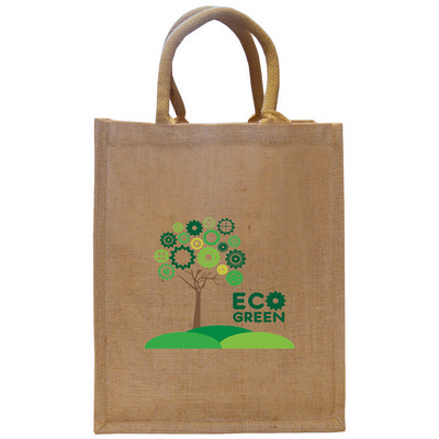 Picture of Tatton Medium Jute Conference Bag.