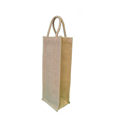 Picture of Tatton Jute Single Gift Bottle Bag.