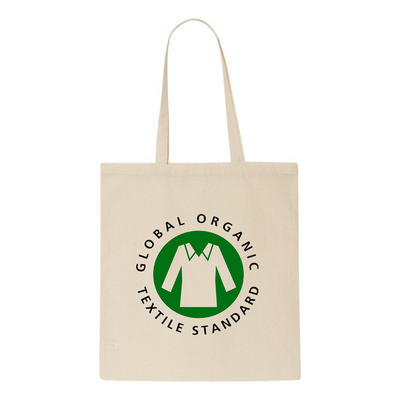 Picture of Arley Organic Cotton Shopper Tote Bag.