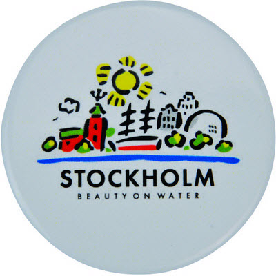 Picture of Button Badge - Round 75Mmd