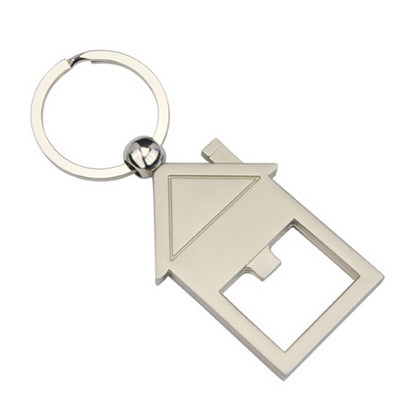 Picture of House Bottle Opener Key Ring