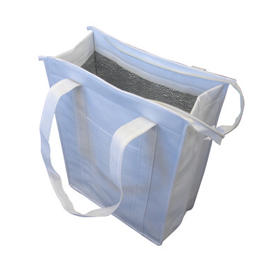 Picture of Non Woven Cooler Bag With Top Zip ClosureTote Bags