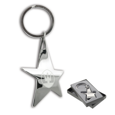 Picture of Silver Stella Keychain