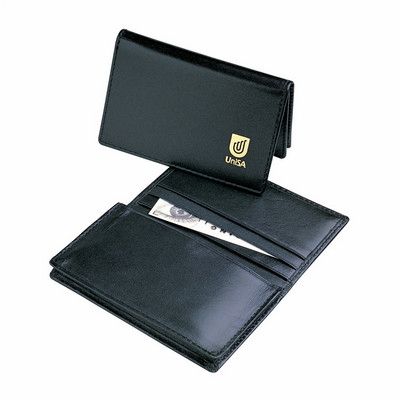 Picture of Leather Pocket Business Card Holder