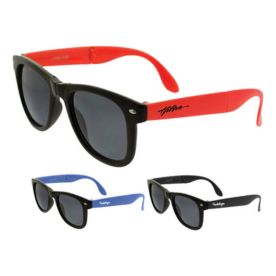 Picture of Collapsible Frame Retro Sunglasses