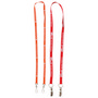 Dual Attachment Lanyards - 10mm Wide