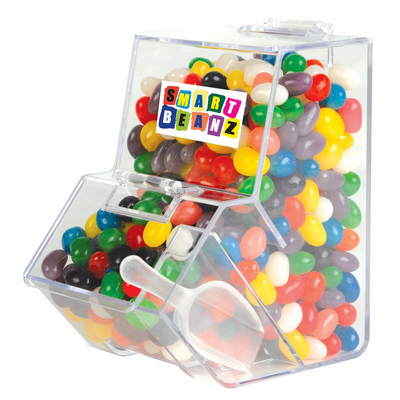Picture of Assorted Colour Mini Jelly Beans in Disp