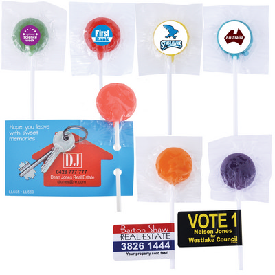 Picture of Assorted Colour Lollipops