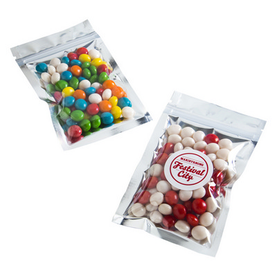 Picture of Silver Zip Lock Bag with Chewy Fruits 50GSilver Zip Lock Bag with Chewy Fruits 50G9870583