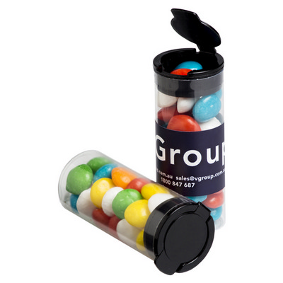 Picture of Flip Lid Tube Filled with Chewy Fruits (