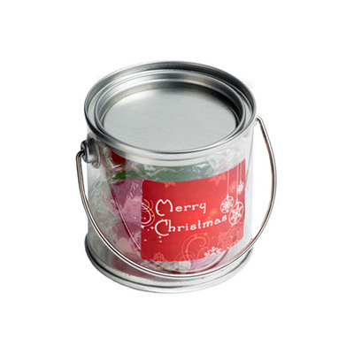 Picture of Small PVC Bucket Filled With Christmas T