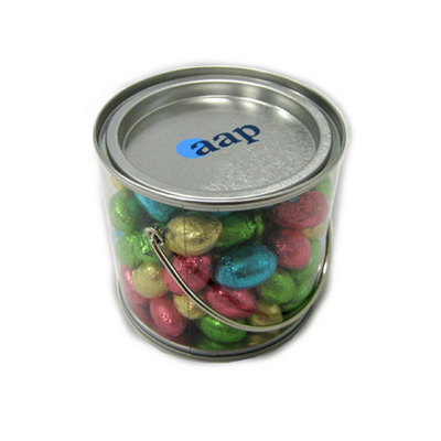 Picture of Medium Bucket Filled With Mini Easter Eg