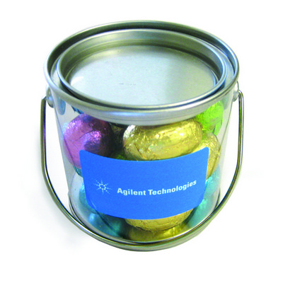 Picture of Small Bucket Filled With Mini Easter Egg