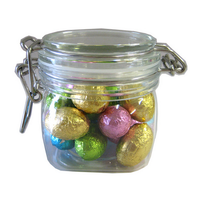 Picture of Small Canister Filled With Mini Easter E