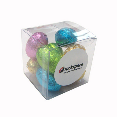 Picture of Cube FIilled With Mini Easter Eggs X9 Eg