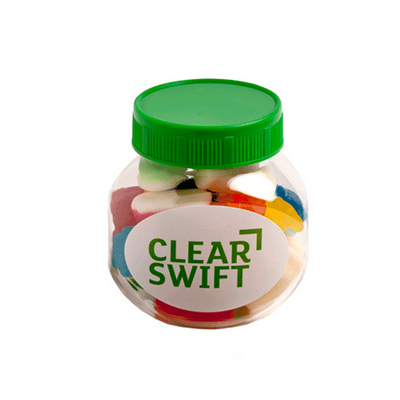 Picture of Plastic Jar Filled with Mixed Lollies 13