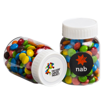 Picture of Baby Jar Filled with Mini M&Ms 45G