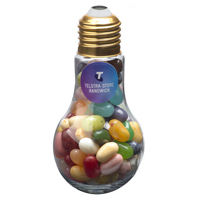 Picture of Light Bulb with JELLY BELLY Jelly Beans