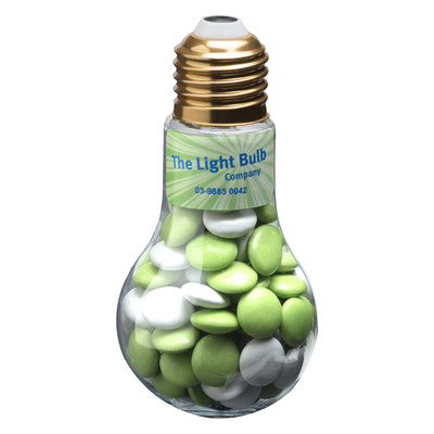 Picture of Light Bulb with Choc Beans 100G