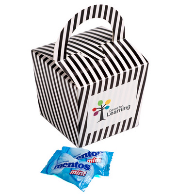 Picture of Coloured Noodle Box Filled with Mentos X