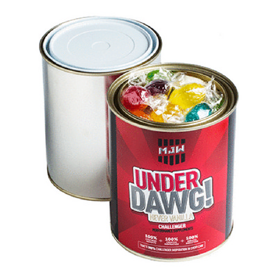 Picture of Paint Tin Filled with Boiled Lollies 550gPaint Tin Filled with Boiled Lollies 550g9871882