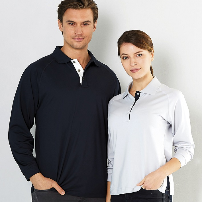 Picture of Mens Team Polo Long Sleeve