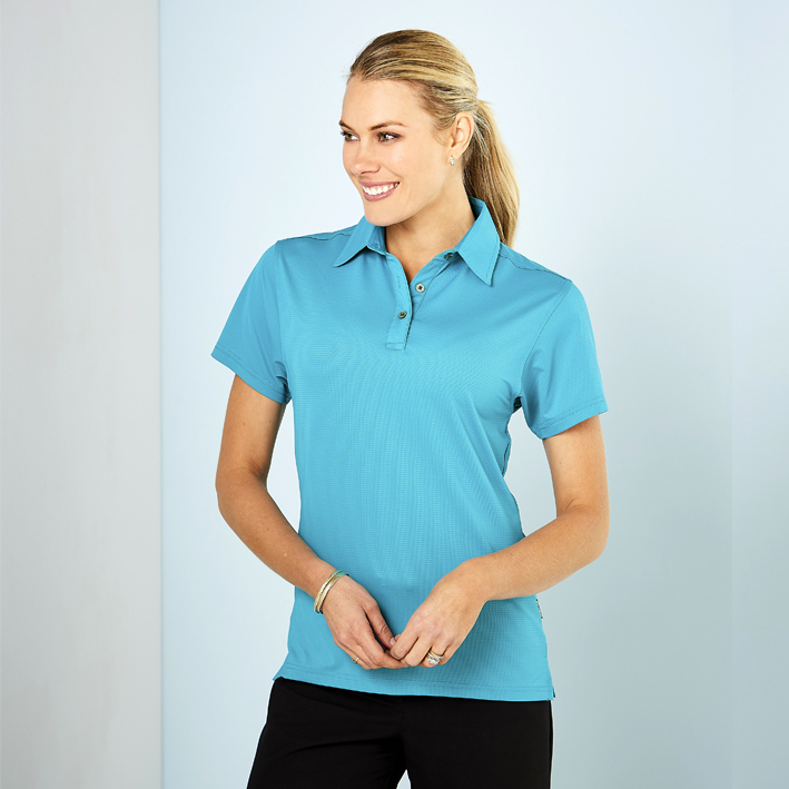 Picture of Ladies Silvertech Polo