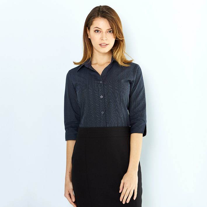 Picture of Ladies Silvertech Shirt 3/4 Sleeve