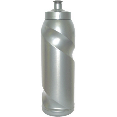 Picture of Silver Twister Style Bottle