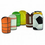 Sublimated Sports Ball Cooler with Base