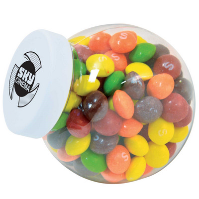 Picture of Assorted Fruit Skittles in Container