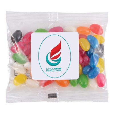 Picture of Assorted Colour Mini Jelly Beans in 50 G