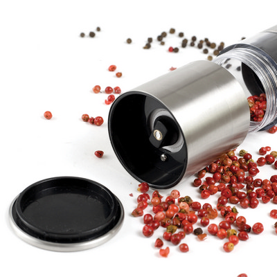 Picture of Napoli Stainless Steel Salt & Pepper Gri